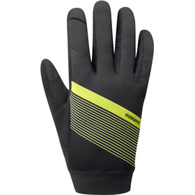 Shimano Wind Control Gants Homme, neon yellow